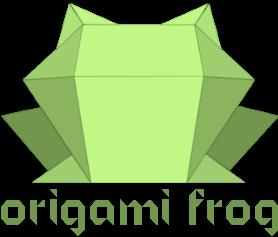 Origami Frog Blog