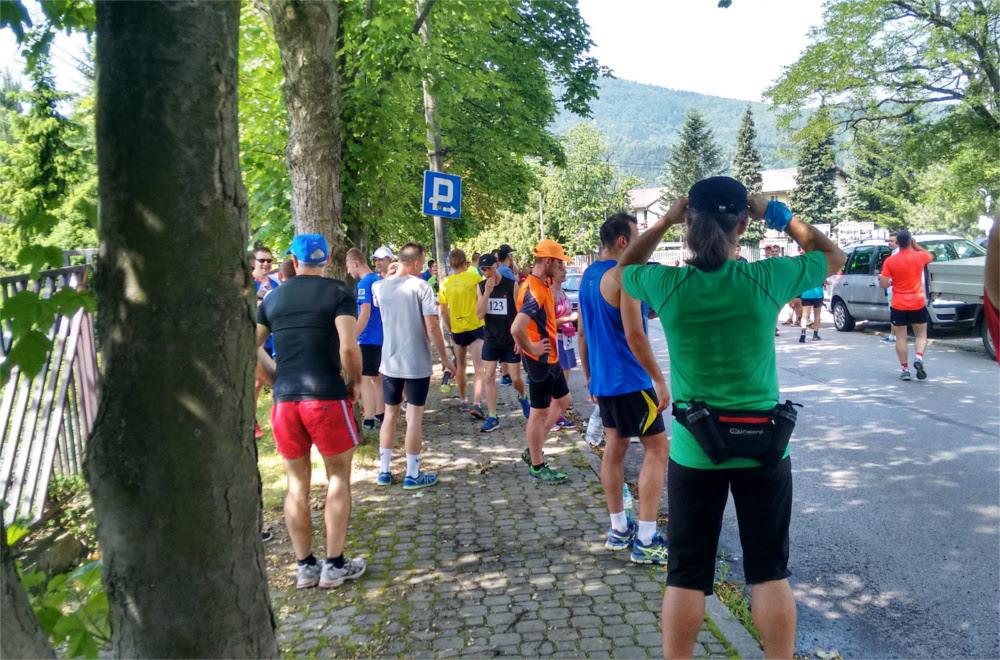 Relacja z biegu na górę Żar 2016