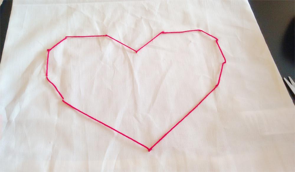 DIY Ozdobne poduszki z geometrycznymi wzorami