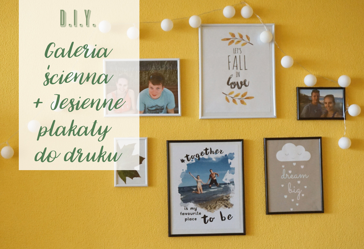 Galeria ścienna + Jesienne plakaty do druku