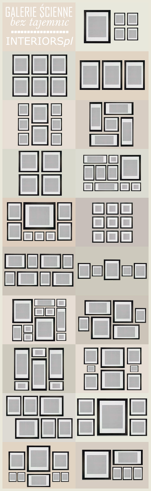 Jak zrobić galerię ścienną + Jesienne plakaty do druku