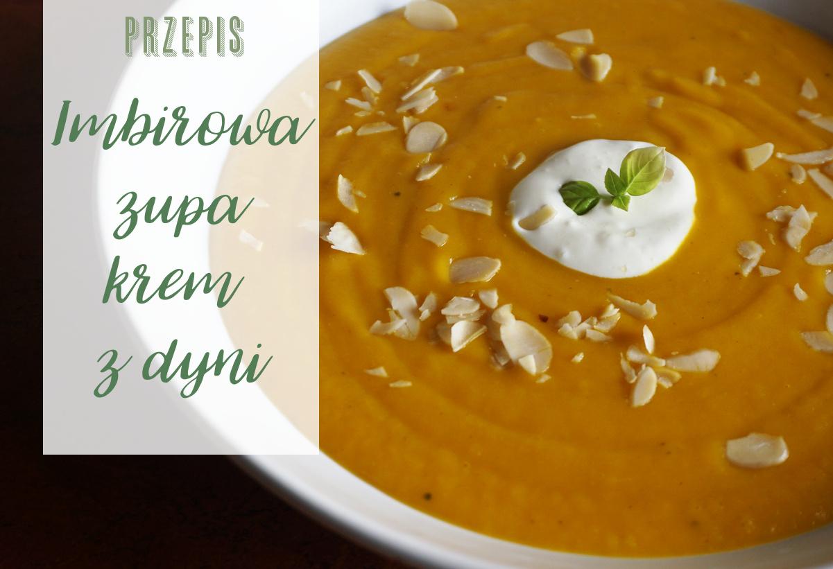Imbirowa zupa krem z dyni