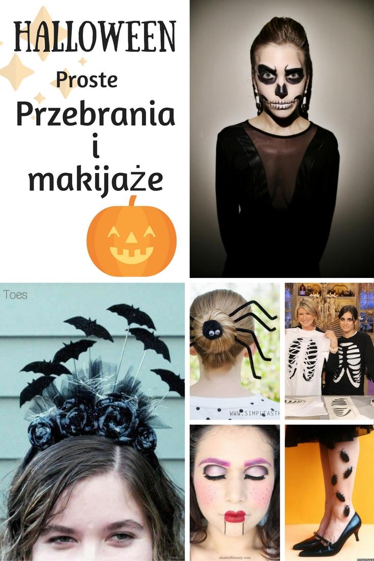 Last minute - Halloween na ostatnią chwilę - proste przebrania i makijaże / Costumes and makeup