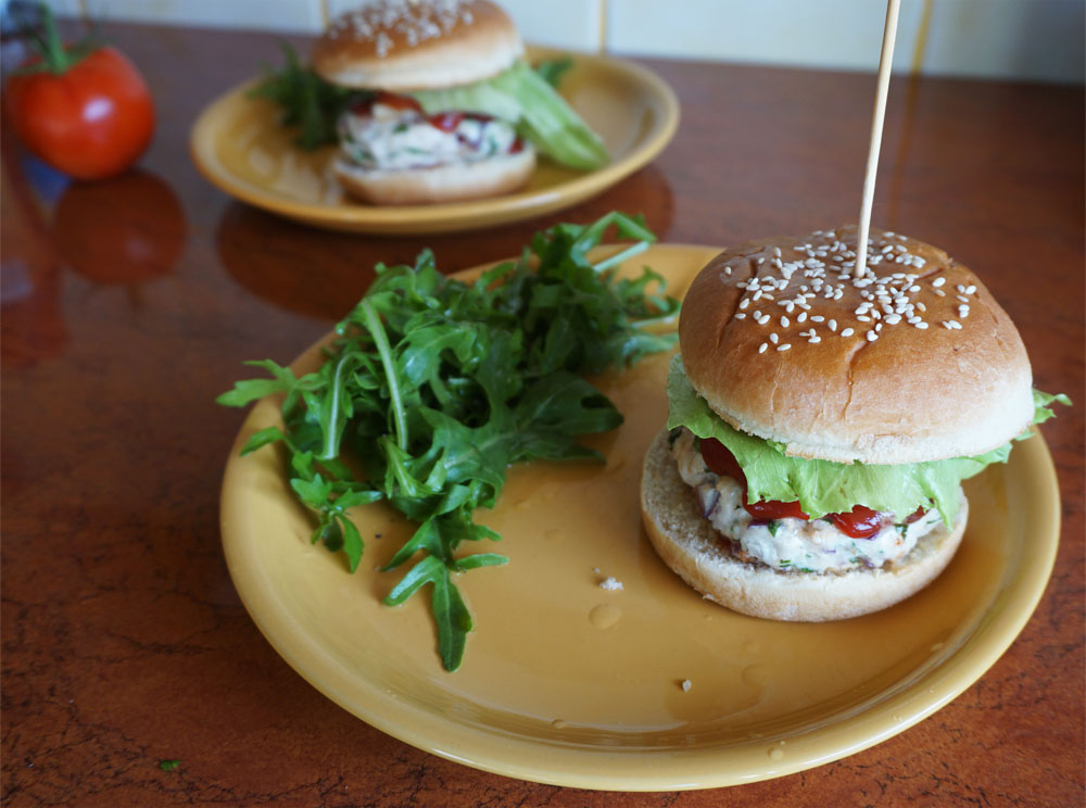 Przepis na Hamburgery z indyka
