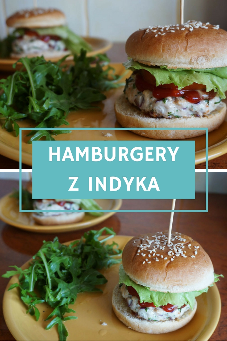 Przepis na Hamburgery z indyka // Turkey hamburgers recipe