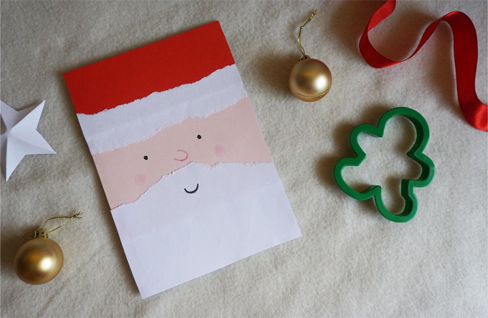 DIY 3 Proste kartki świąteczne