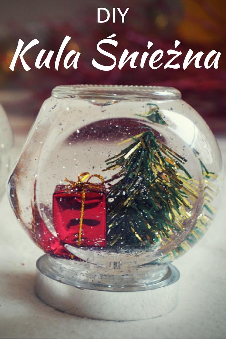 DIY Świąteczna kula śnieżna // DIY Snow globe
