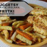 Nuggetsy z kaszą jaglaną + warzywne frytki
