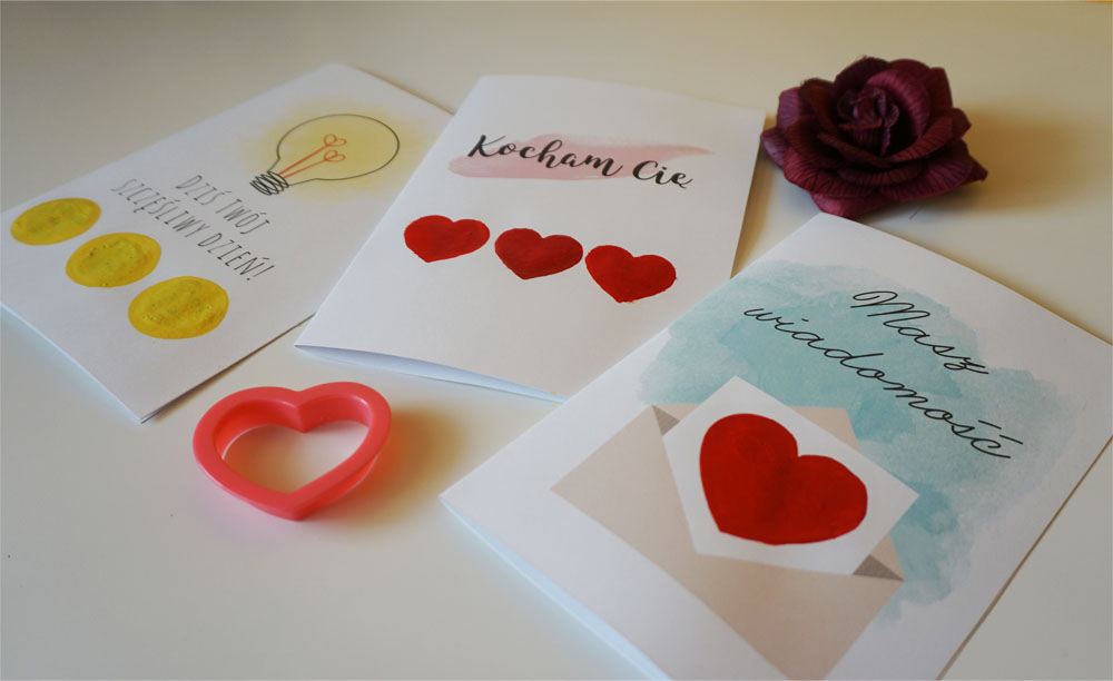 DIY Walentynki Miłosna kartka zdrapka 3 wzory do druku