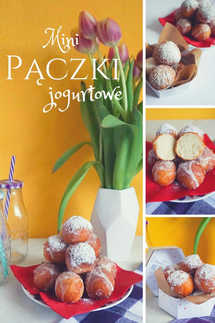 Mini pączki jogurtowe // Mini joghurt donuts