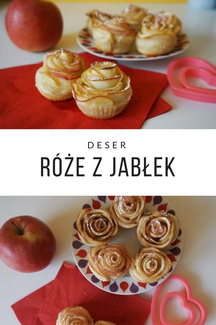 Romantyczny deser róże z jabłek // Apple roses - romantic dessert
