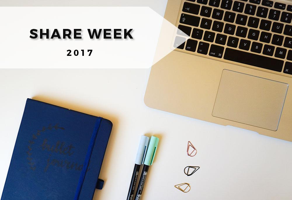 Share week 2017, czyli co czytam i polecam