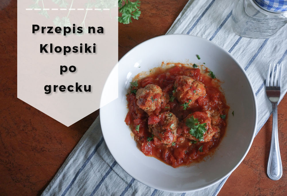 Klopsiki greckie w sosie pomidorowym