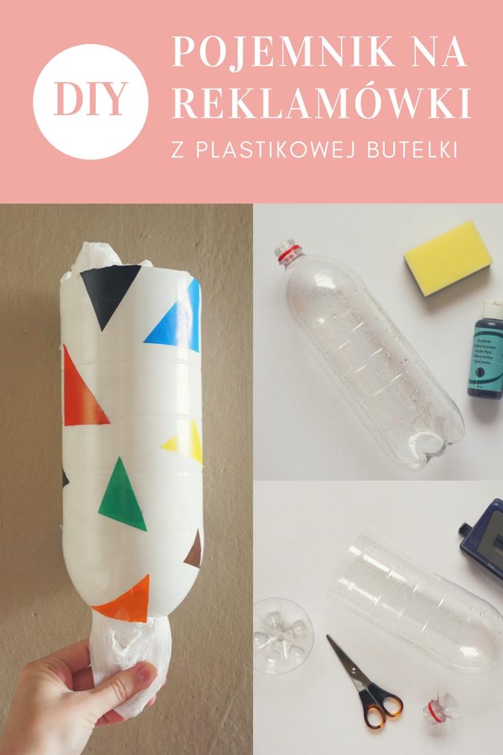 DIY Pojemnik na reklamówki z plastikowej butelki