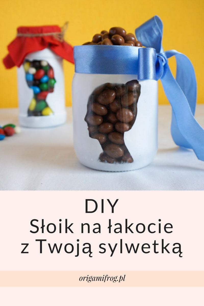 DIY Słoik na łakocie z Twoją sylwetką (profilem twarzy) - Jak wyciąć twarz w programie GIMP