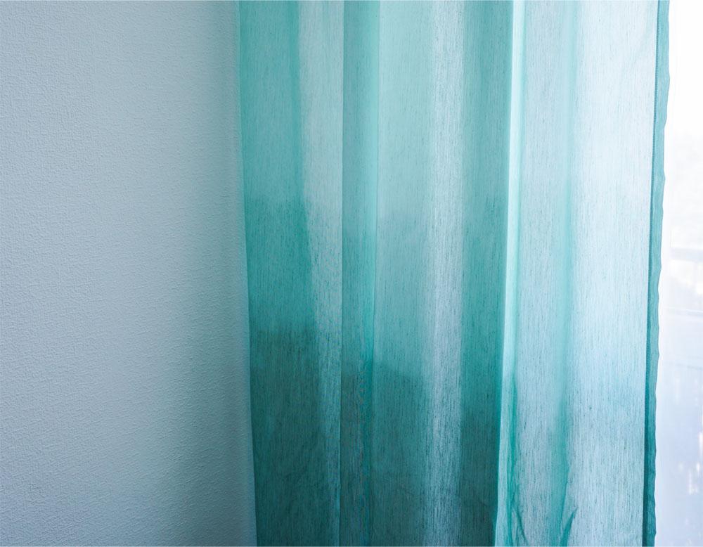 DIY Zasłony ombre - farbowanie tkanin