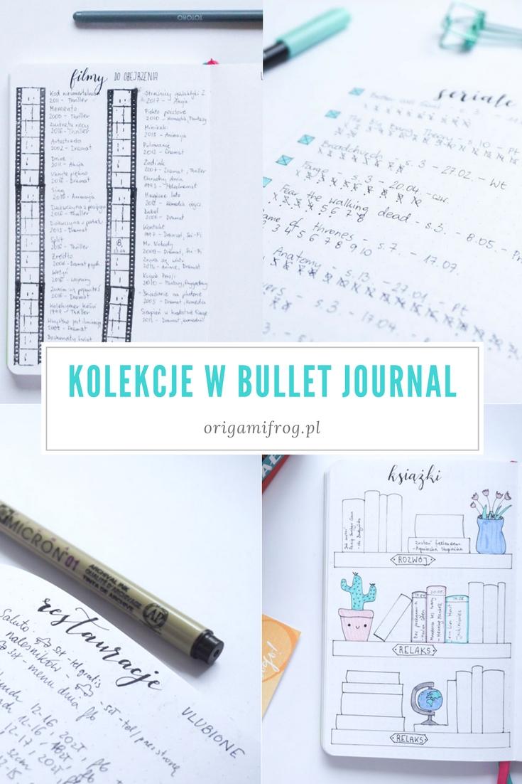 Listy i kolekcje w moim bullet journal // Bullet journal collections