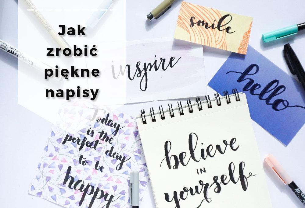 Jak robićpiękne napisy – oszukana kaligrafia