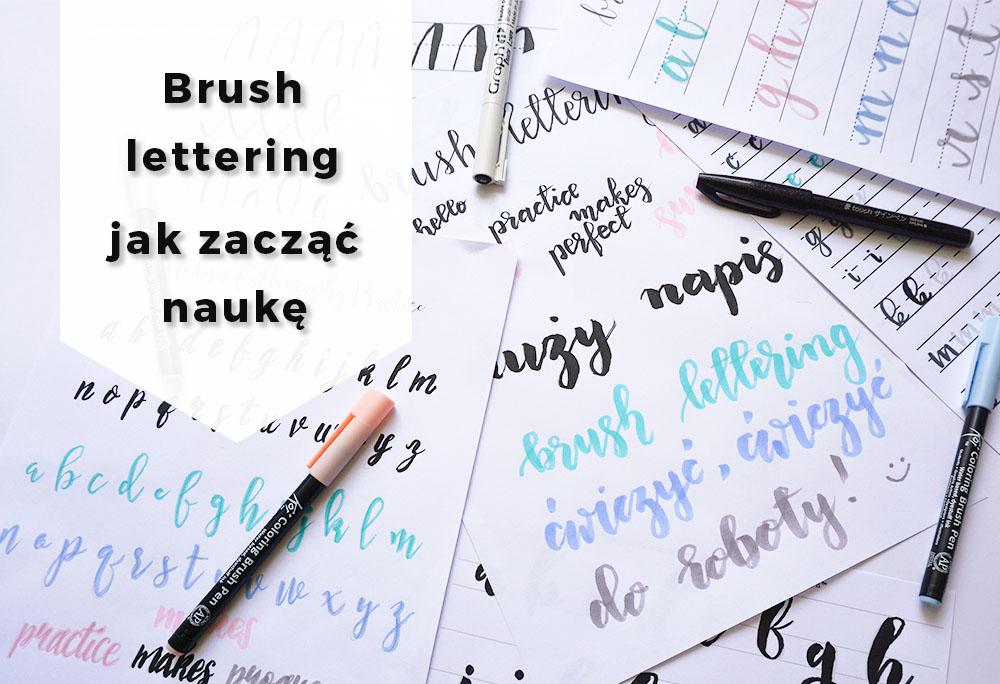 Brush lettering – co to jest i jak zacząć naukę