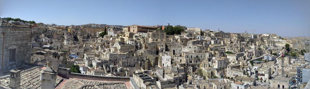 Zwiedzanie Apulii - co warto zobaczyć - Matera panorama