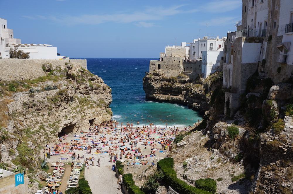 Zwiedzanie Apulii - co warto zobaczyć - Lama Monachile Cala Porto