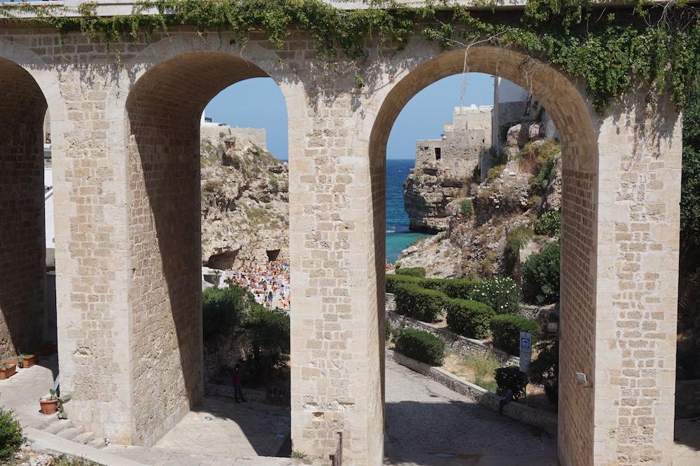 Zwiedzanie Apulii - co warto zobaczyć - Polignano a Mare