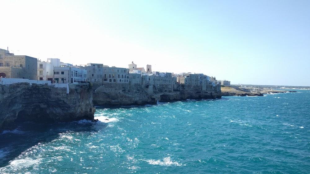 Zwiedzanie Apulii - co warto zwiedzić - Polignano a Mare