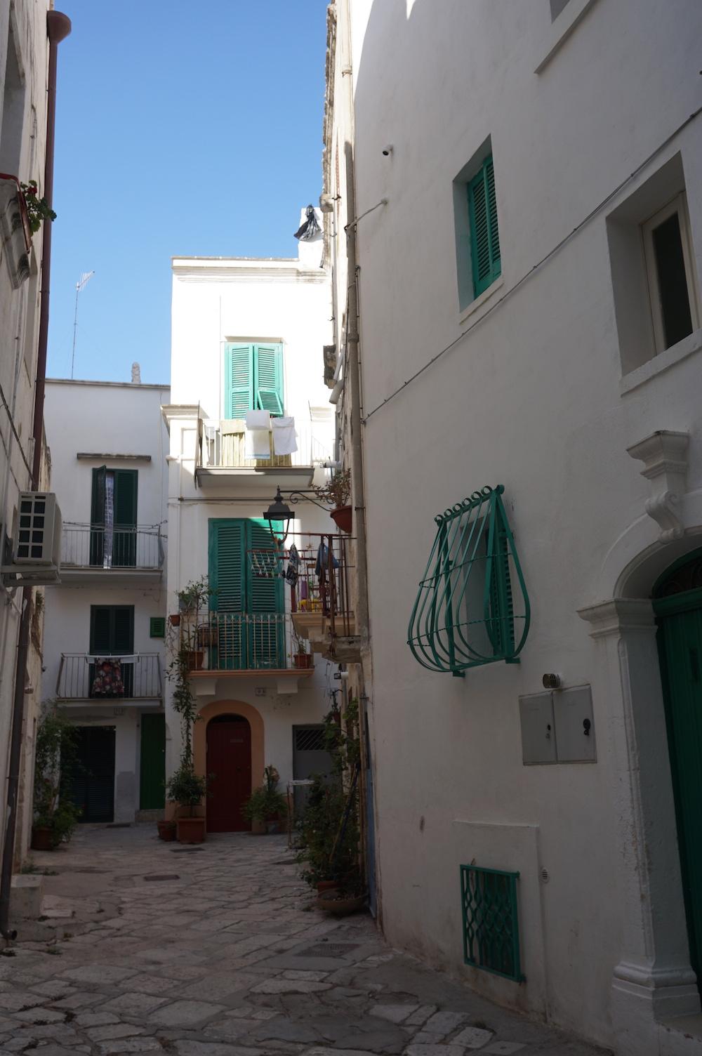 Zwiedzanie Apulii - co warto zobaczyć - stare miasto Monopoli
