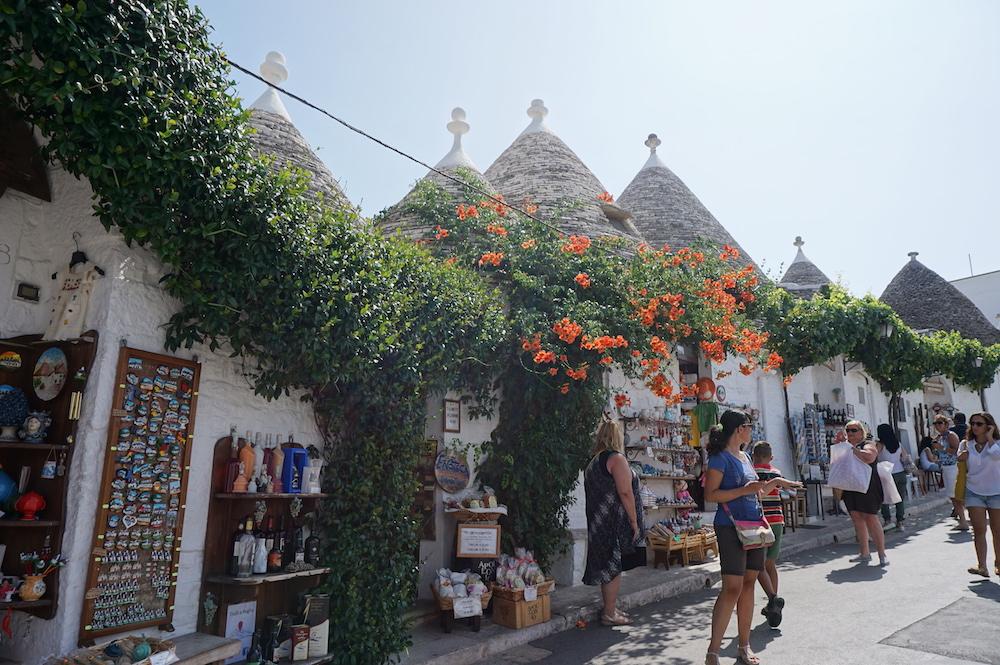 Zwiedzanie Apulii - co warto zobaczyć Alberobello