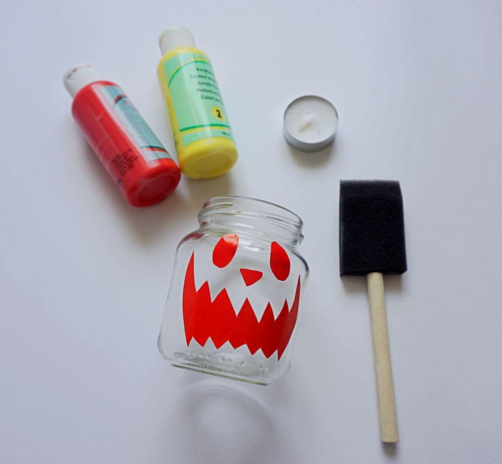 DIY Świecznik na Halloween