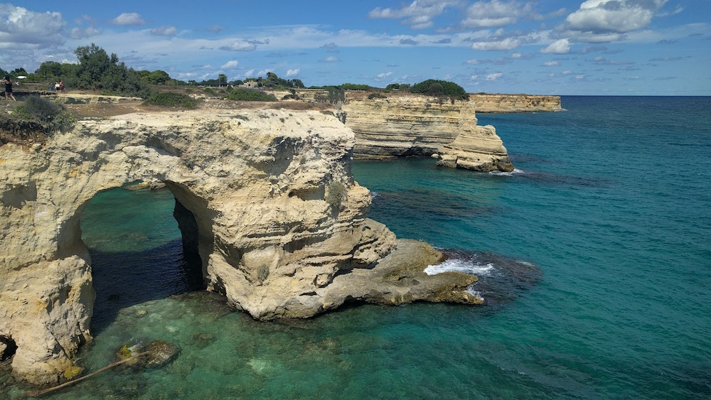 Plaże Apulii - Puglia co zobaczyć - Grotta del Canale