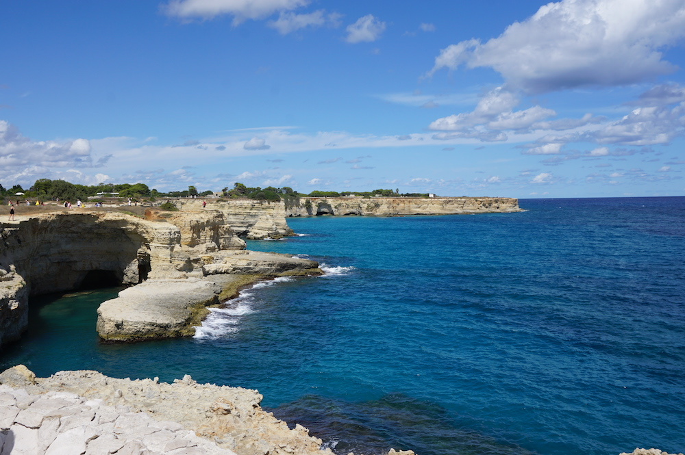Plaże Apulii - Puglia co zobaczyć - Sant'Andrea