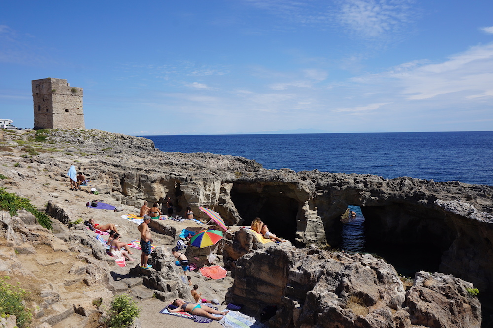 Plaże Apulii - Puglia co zobaczyć - Spiaggia e Piscina