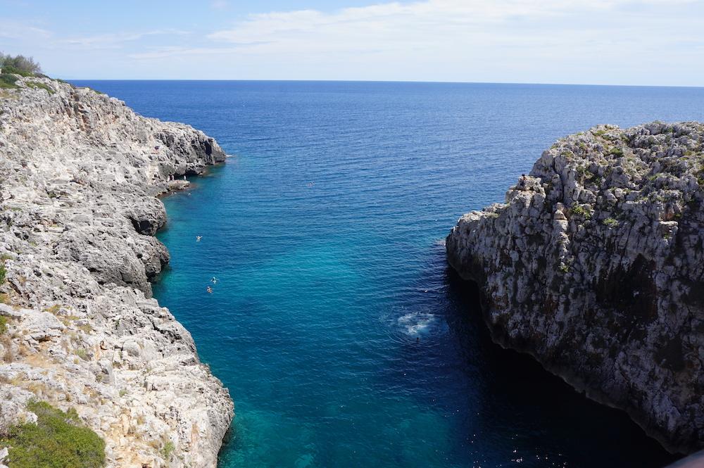 Plaże Apulii - Puglia co zwiedzić - Ponte Ciolo