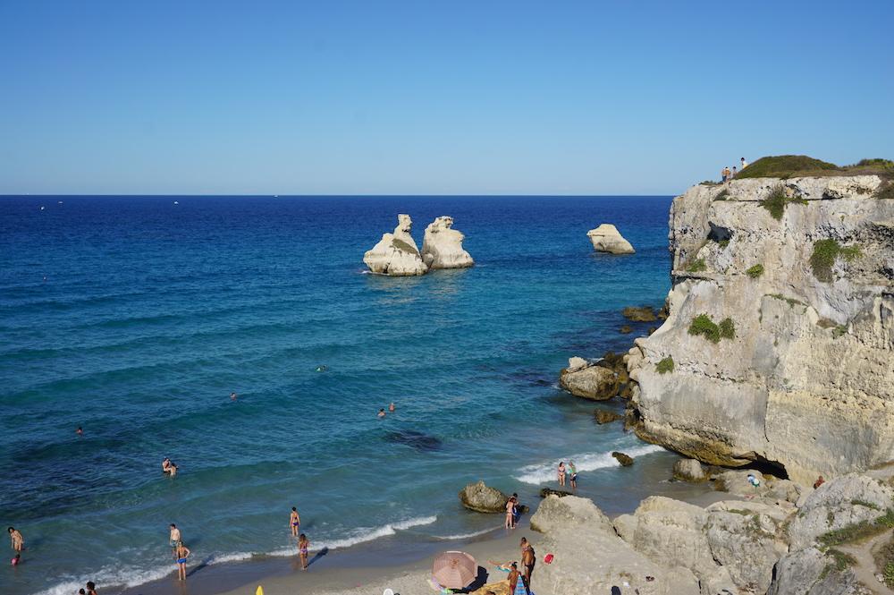 Plaże Apulii - Apulia co zobaczyć Torre dell'Orso