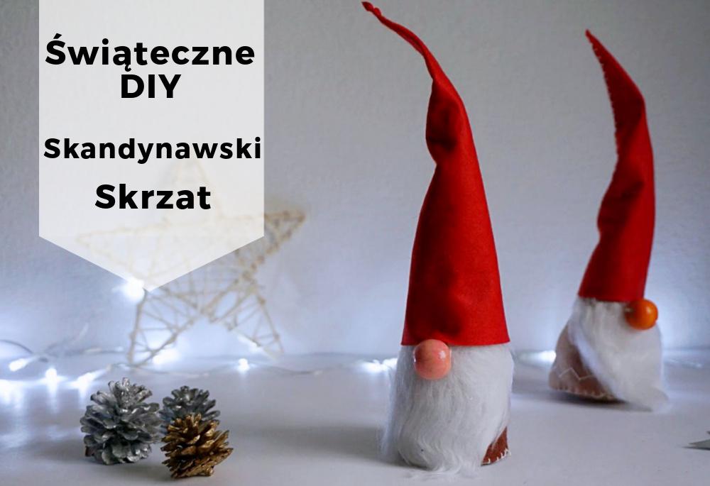 DIY Skandynawski skrzat z filcu