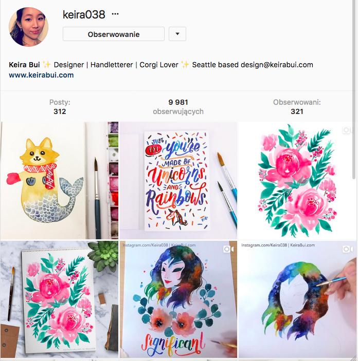 Hand lettering - piękne i inspirujące profile Instagram