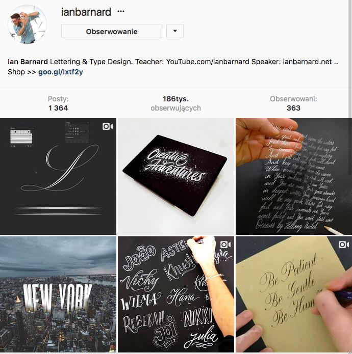 Hand lettering na Instagram- jak ozdabiać litery - pomysły i inspiracje