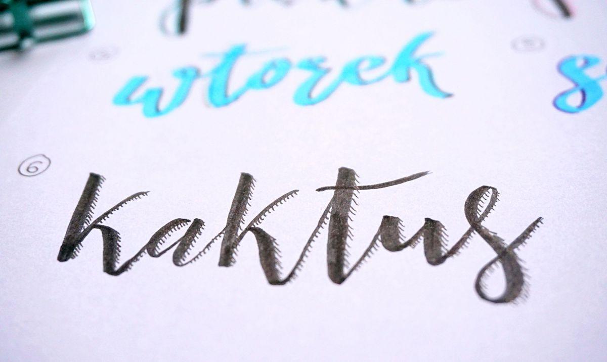 Hand lettering shadows - jak ozdabiać litery - pomysły i inspiracje