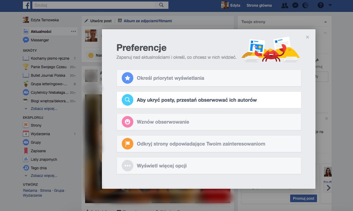 Jak zrobić porządek na Facebooku - czyszczenie głównej tablicy