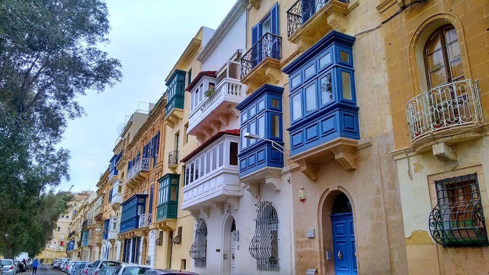 Malta w listopadzie 2017 - wykusze