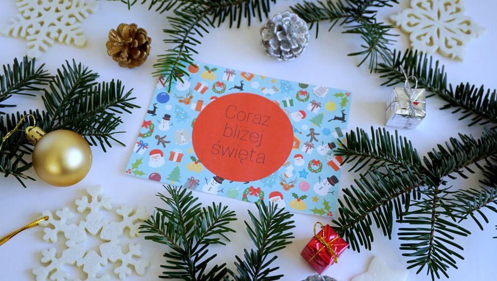 DIY Kartka świąteczna w Canvie