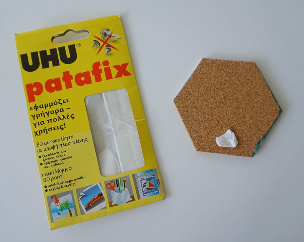 DIY Geometryczna tablica korkowa