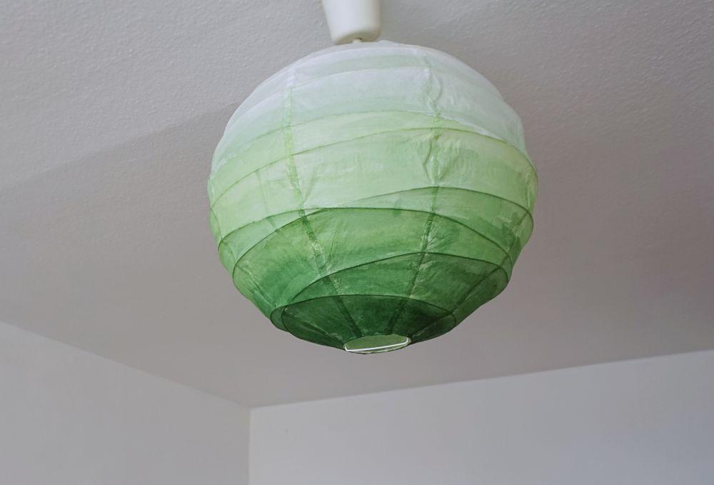DIY Lampa ombre Ikea hack