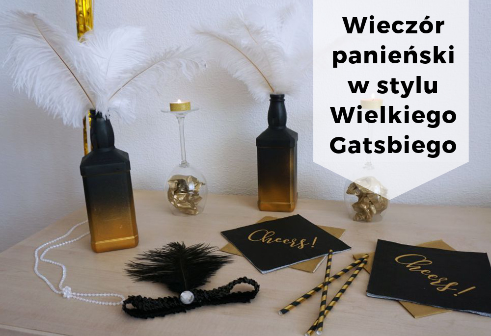 Wieczór panieński w stylu lat 20 – impreza Wielkiego Gatsby'ego