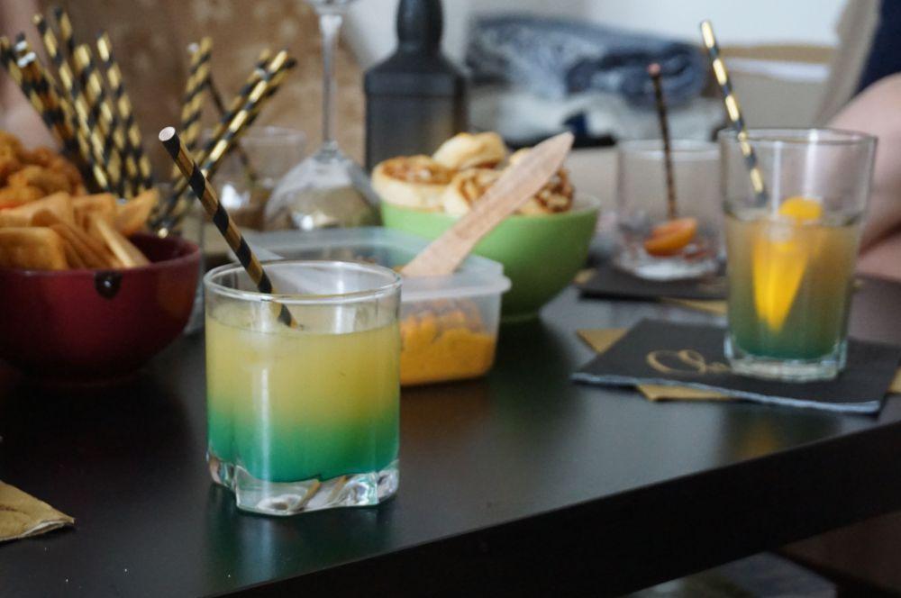 Wieczór panieński w stylu lat 20 - impreza Wielkiego Gatsby'ego - kolorowe drinki na wieczór panieński do druku