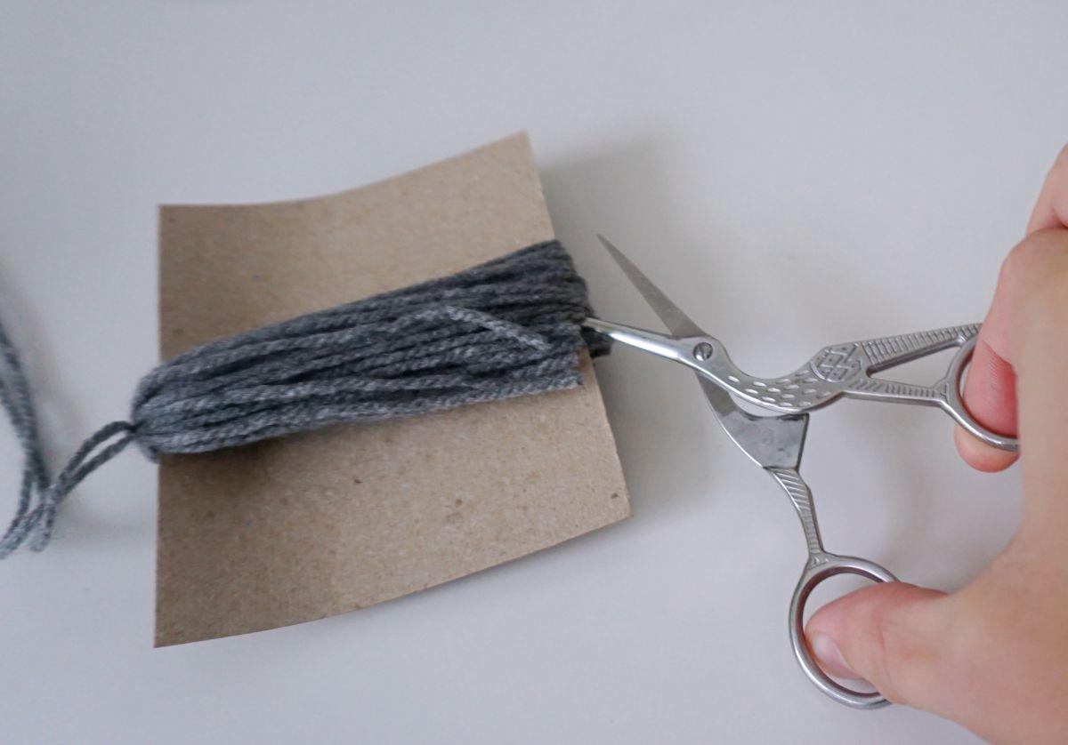 DIY Zakładka do książki z frędzlem i zakładki do druku