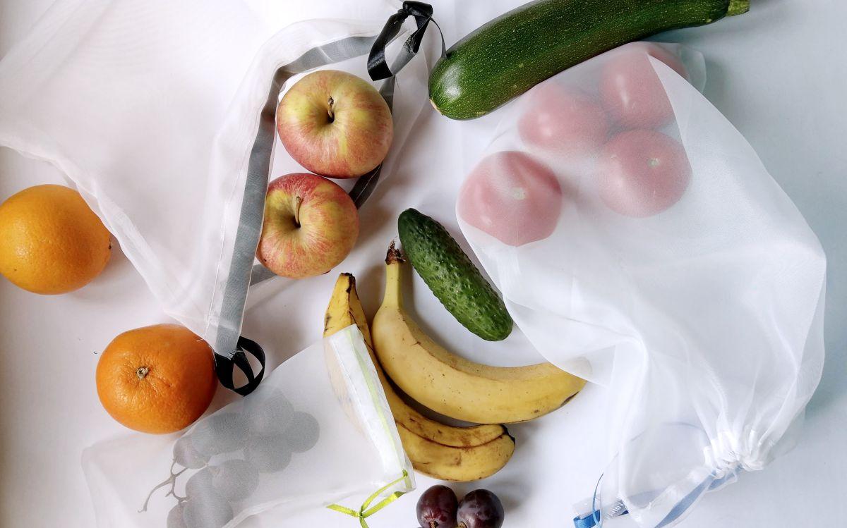 DIY Eco Woreczki na warzywa i owoce