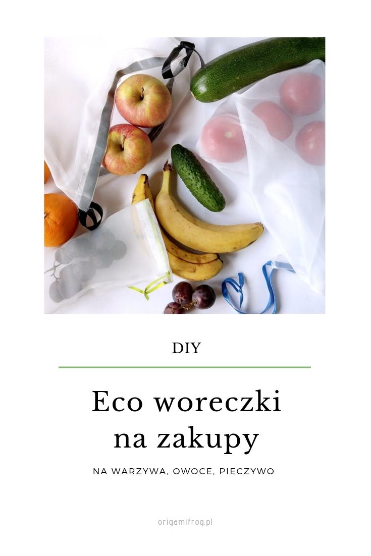 DIY Woreczki na warzywa i owoce