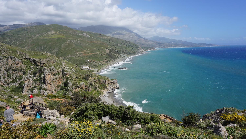 DIY Kreta poza sezonem - Preveli beach